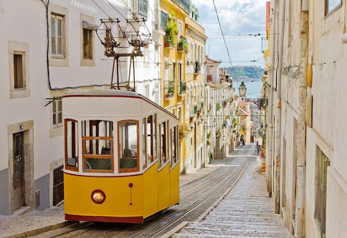 Duplex Apartment in Bica Elevator - Lisboa - Apartemen