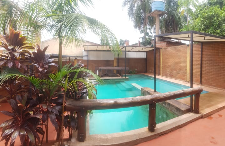 Departamento dos dormitorios con piscina