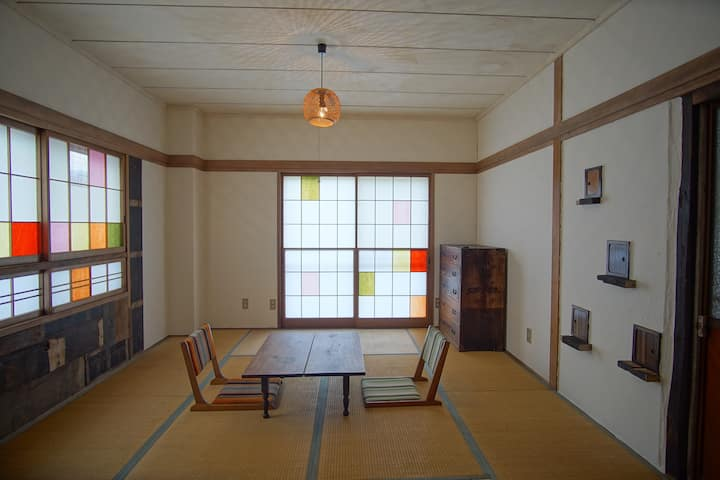 Hakuba station Guest house eN room for 3 people