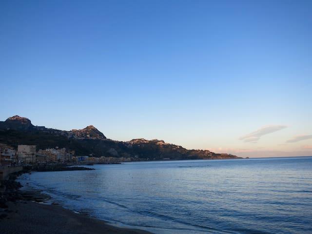 Pequeño estudio cerca de Taormina - Porticato