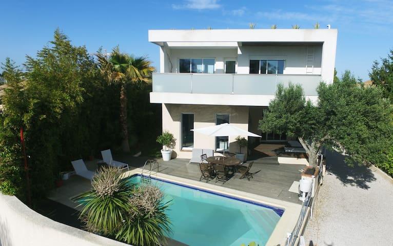 Prestige villa between Montpellier and the beach - Lattes - Hus