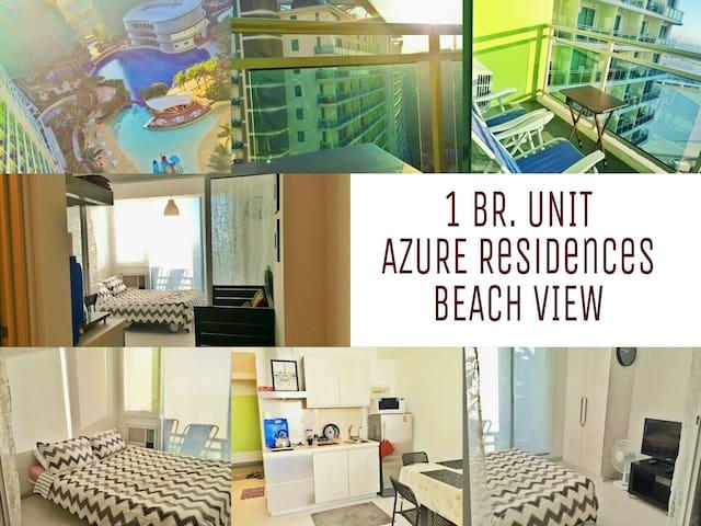 1 BR. Unit - Beach View @ Azure - Parañaque  - Daire