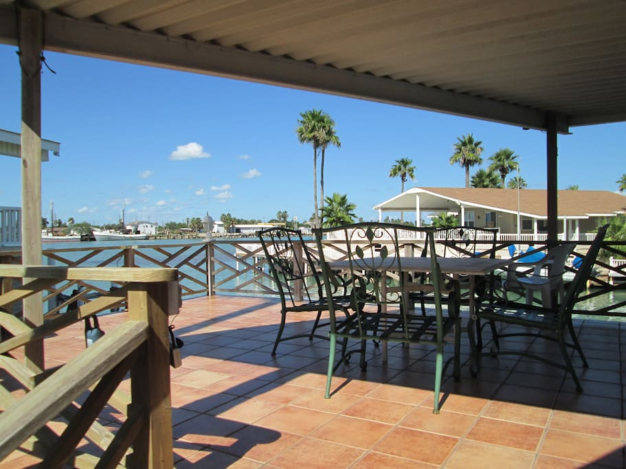 View of Canal from Wrap-around Deck