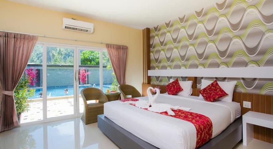 Stylish Room room near beach in Phi Phi - Krabi - Lägenhet
