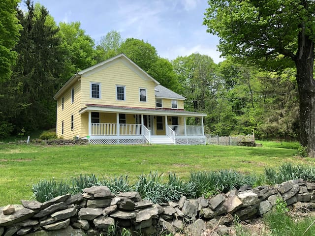 Newly Renovated 1840's Farmhouse 1.5 hrs from NYC