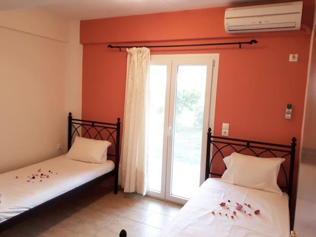 Despina's apartment located in Nidri (Nydri)-2 single beds