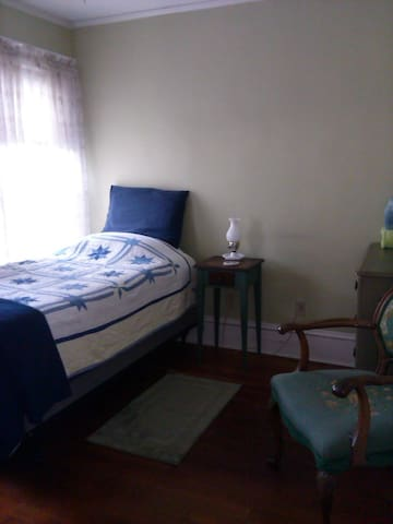 Comfy twin bed, private - Greenfield - Apartament