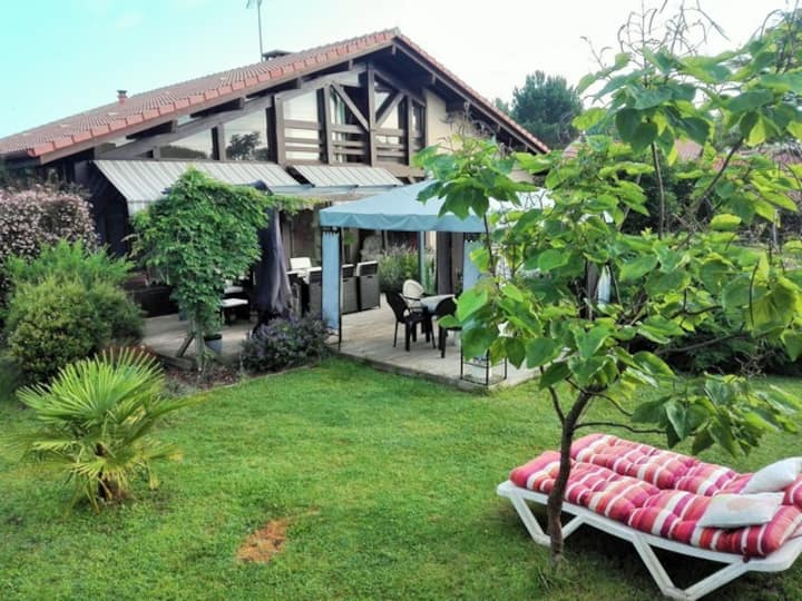 Villa de type landaise