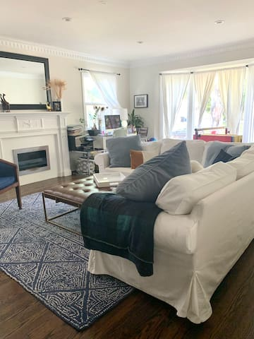 Clean and relaxed SoCal young family home