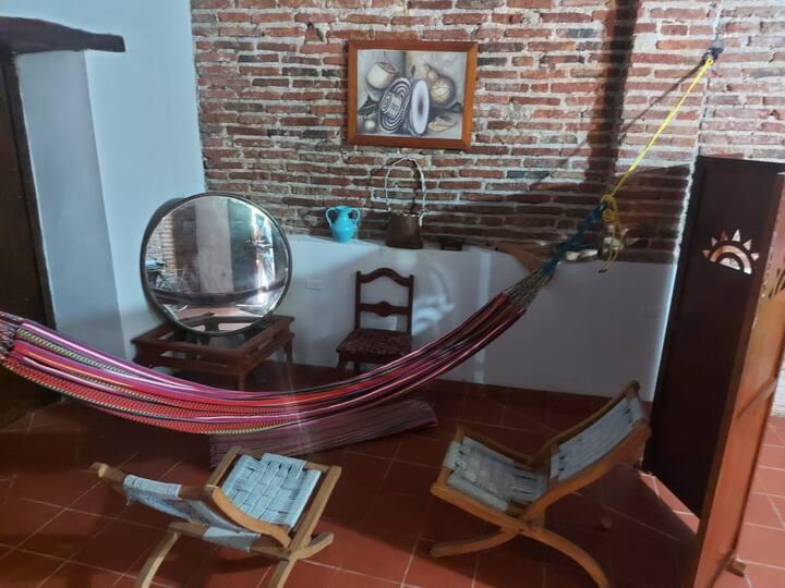 Apartaestudio tipo loft Mompox excelente ubicación