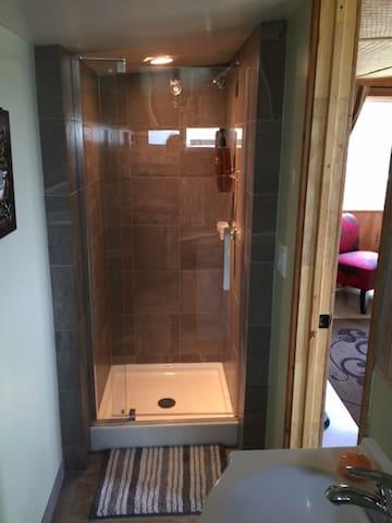 The Tiled Shower