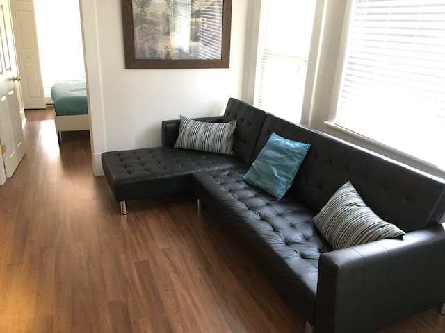Entire 2 Bedroom Apt- Walk to the Falls