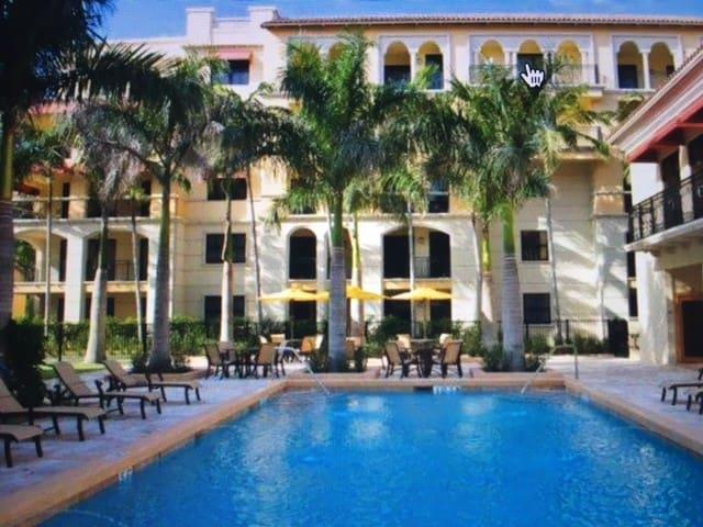 A spacious beautiful 1BR in a luxurious complex - Boca Raton - Apartmen
