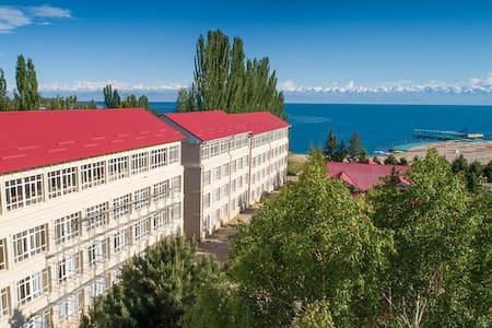 Cozy room at Evrazia Hotel Issyk-Kul