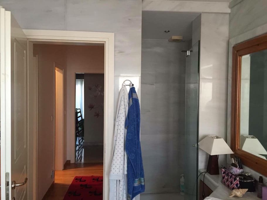 Private bathroom of master bedroom