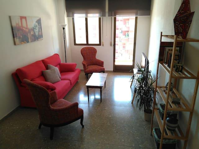 Apartamento vintage en el centro de Albacete - Albacete - Leilighet