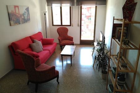 Apartamento vintage en el centro de Albacete - Albacete - Huoneisto