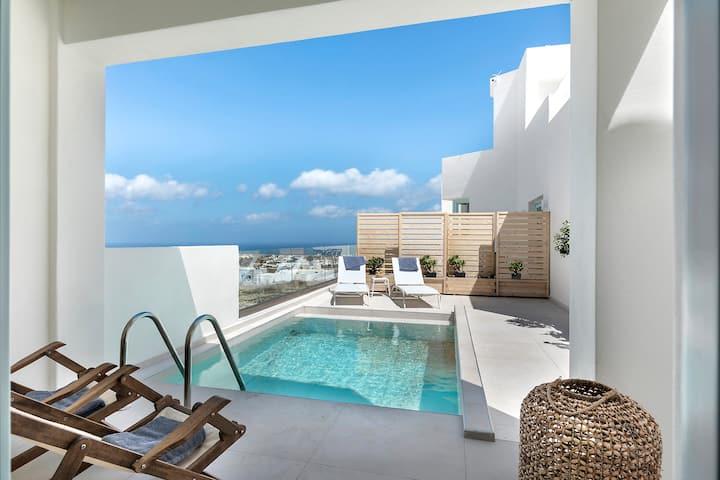 Santo Bloom Villa with Private Pool