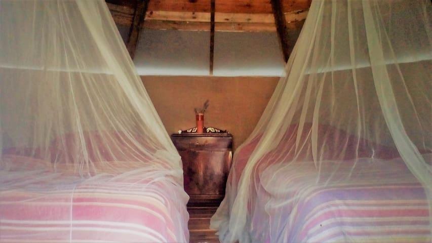 African Hut in between Cordoba and Granada