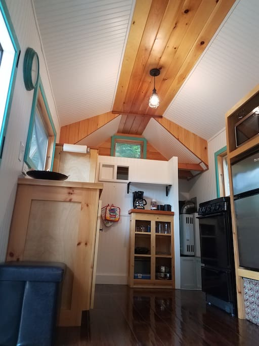 Tiny Home Kitchen Area