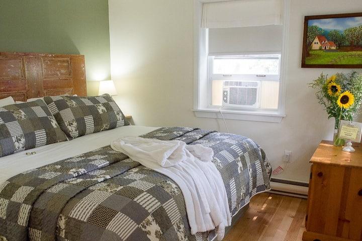 KING SUITE - Bright 2 Room Suite -  500sft²