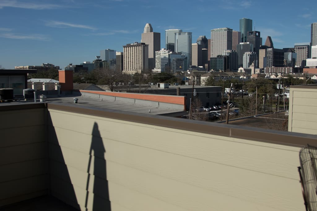 4th floor roofdeck with amazing unobstructed views of downtown