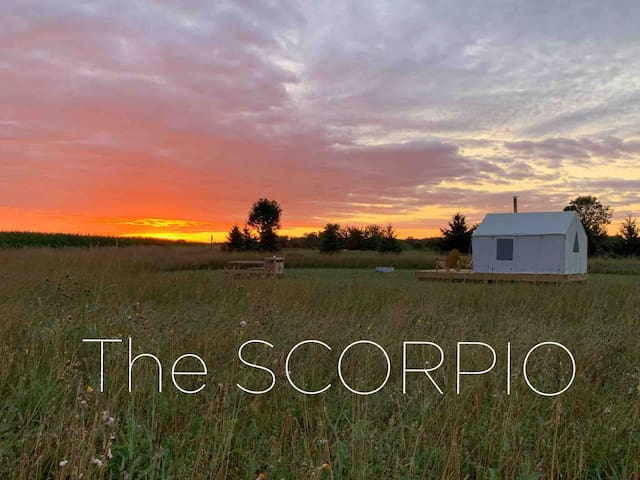 the SCORPIO. Come stay under the stars with us.