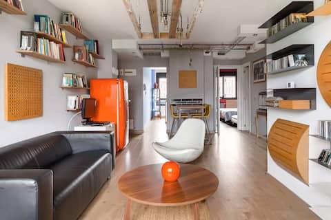 Loft con aparcamiento, wifi y desayuno incluidos