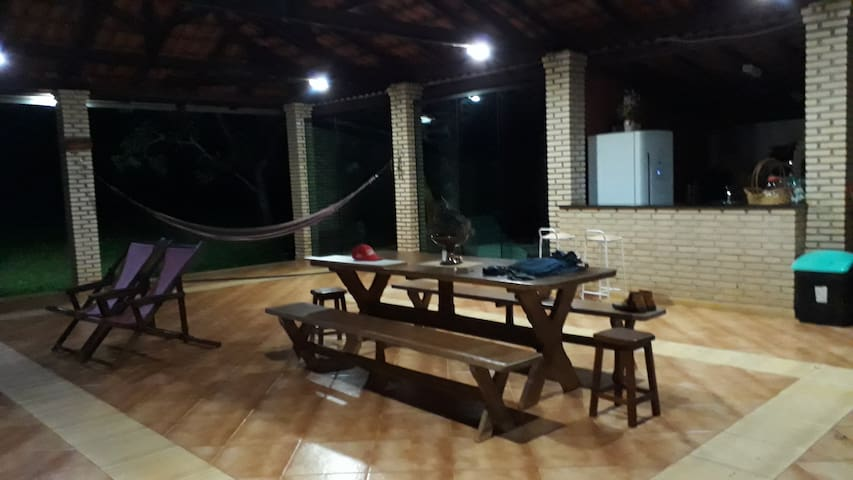 sala de convivência aberta