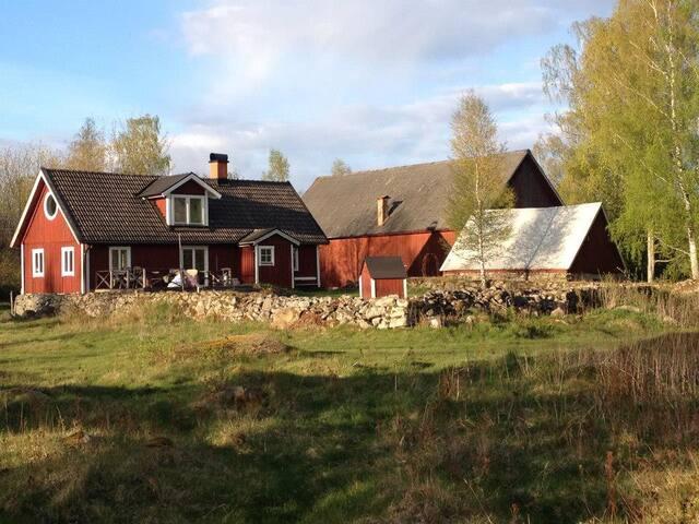 Hyggelig og ugeneret ødegård i Skåne