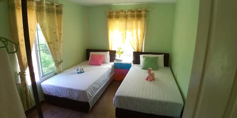 New rooms with bf at quiet organic farm