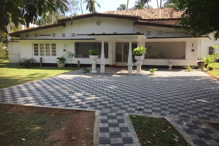 3-5 bedroom villa close to beach with all comfort.