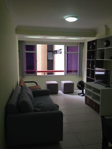 Apartamento mobiliado na Ponta Verde, Maceió-AL - Maceió