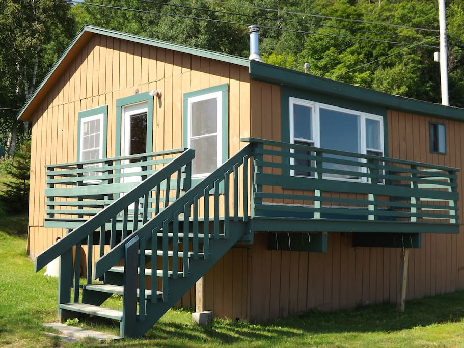Outside View of Cottage #4