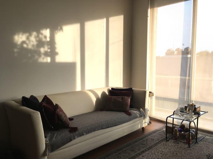 Habitación con excelente ubicación en Narvarte