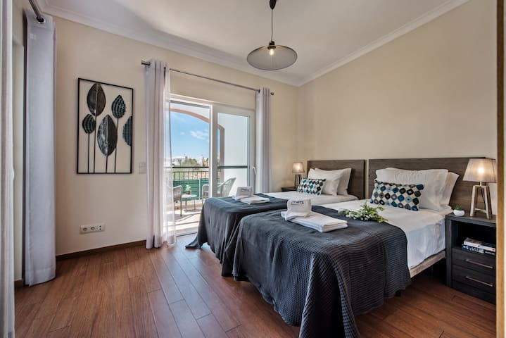 Our Twin Bedroom At The Rear Part Of Villa Canada