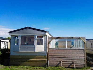 Chalet direct aan de Waddenzee!
