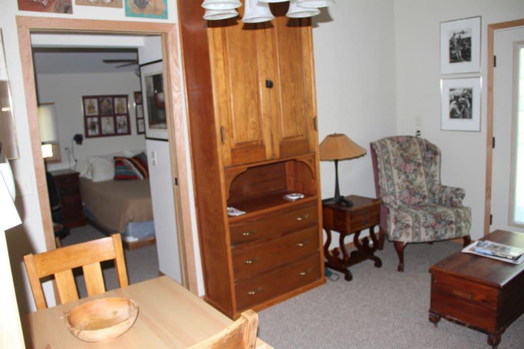 Main Room toward Bedroom