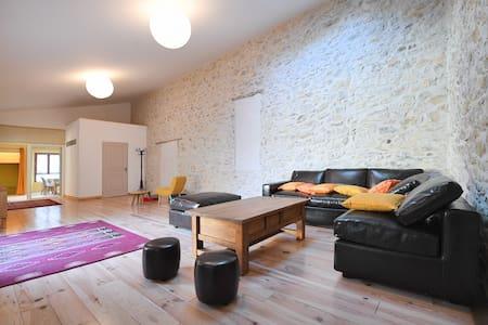 """La """"Casalinda"""":Appartement de charme à la campagne - Tornac - อพาร์ทเมนท์"""