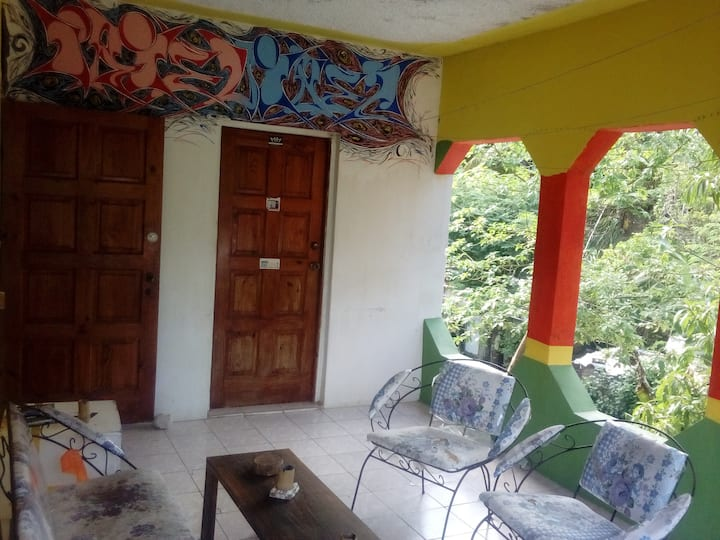 IRIE Vibez Hostel shared room