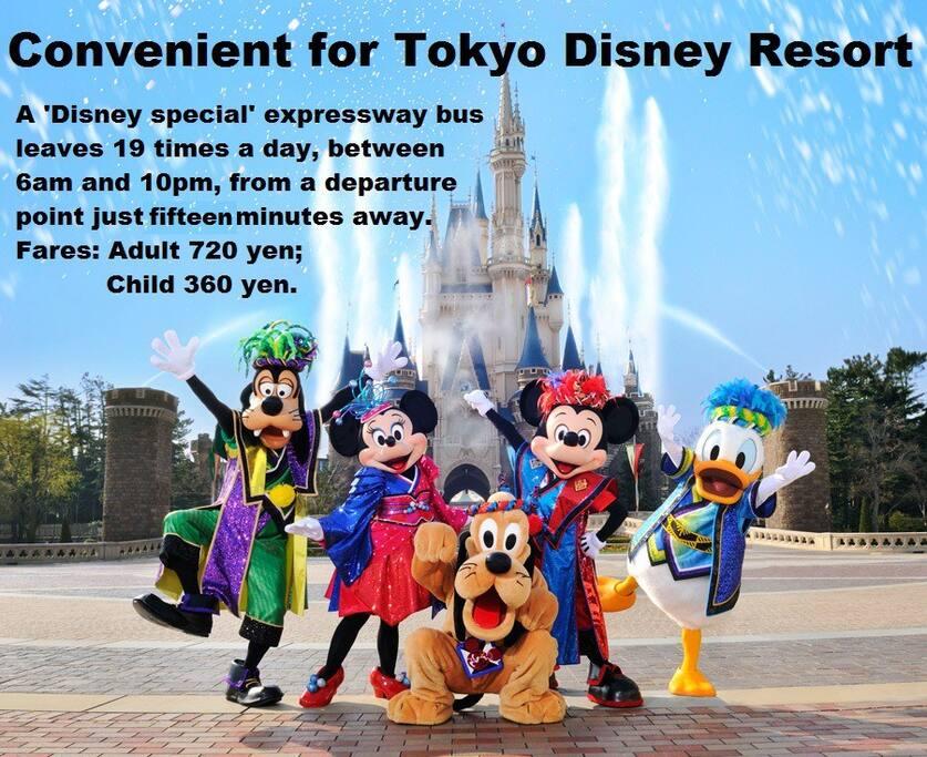 Convenient link to Disney Resort