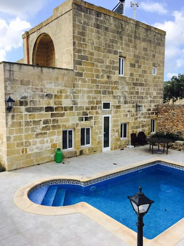 Gozo Detached Farmhouse  - The House of Happiness