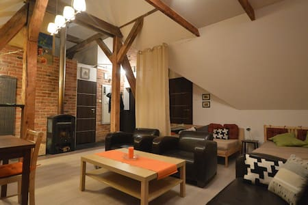attic apartment for 3 people - Gdańsk