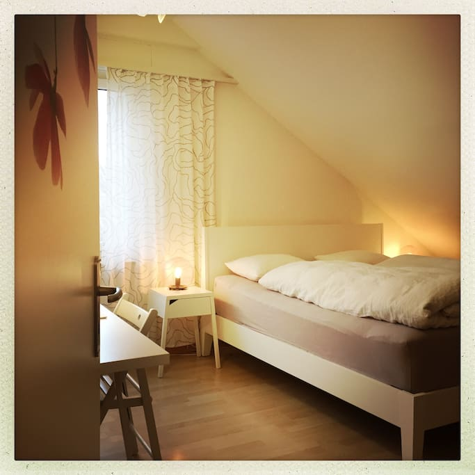 gemütliches Bett // comfortable bed