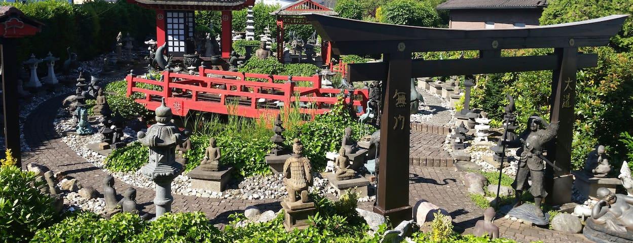 Asian Garden-Das Ferienhaus mit asiatischem Flair.