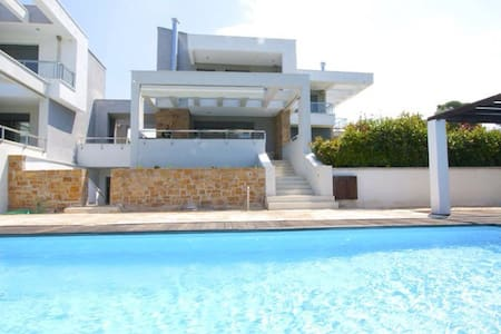 Luxurious villa with a private pool - Sane