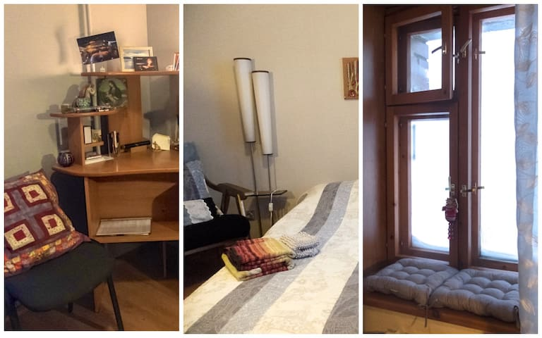 Room at Katya and Caisa for keen arctic travelers