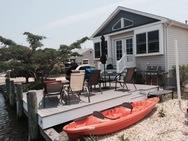 Waterfront Beach Home, Private Cmty - Lavallette - 獨棟