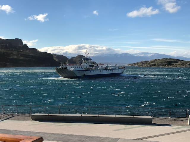 Costanera Apart vista Lago. 2 pers. 2camas singles