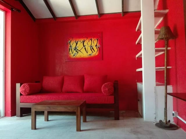 New Red Room sofa bed